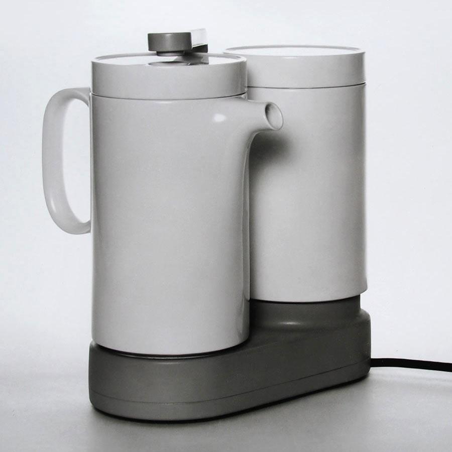 Kaffeemaschine aus Porzellan