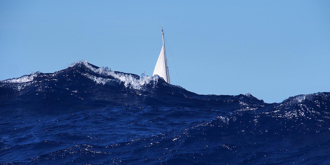 Foto Hahnebach, Welle bei Cap de Formentor