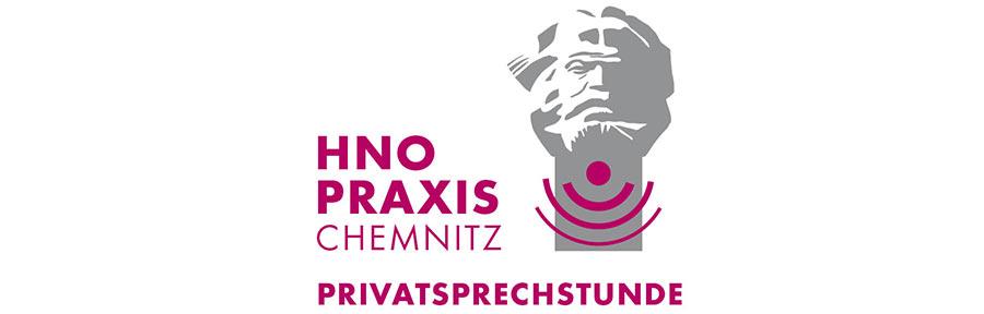 Grafik Hahnebach, Logo HNO Praxis Chemnitz