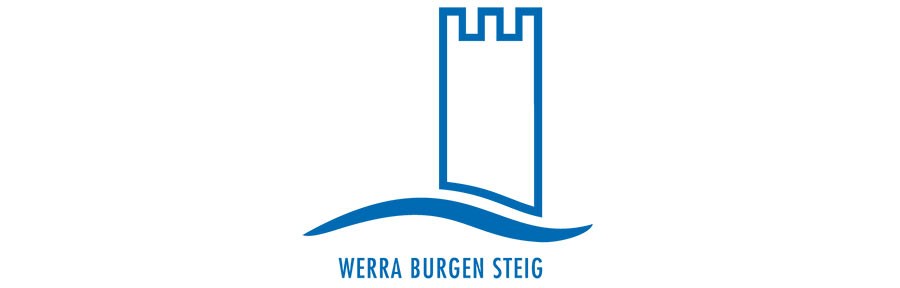 Grafik Hahnebach Logo Werra burgen Steig