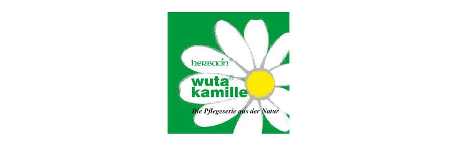 Marke wuta Kamille für herbacin Kosmetik